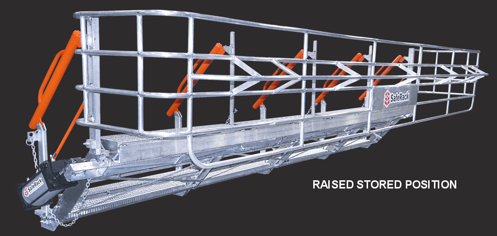 RAISED STORED POSITION