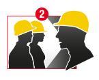 Stap 2: Alle betrokken medewerkers verwittigen