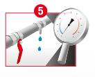 Stap 5: Verspreiding van residuele stroom