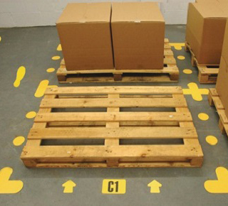 Floor labels