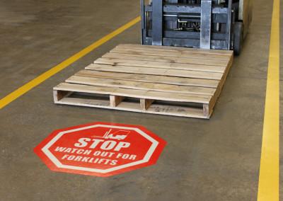 Striping-Signage-Forklift