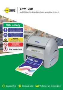 CPM200 frontblad NL