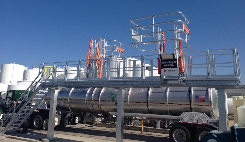 SafeRack – Veilige laadplatformen en gangways