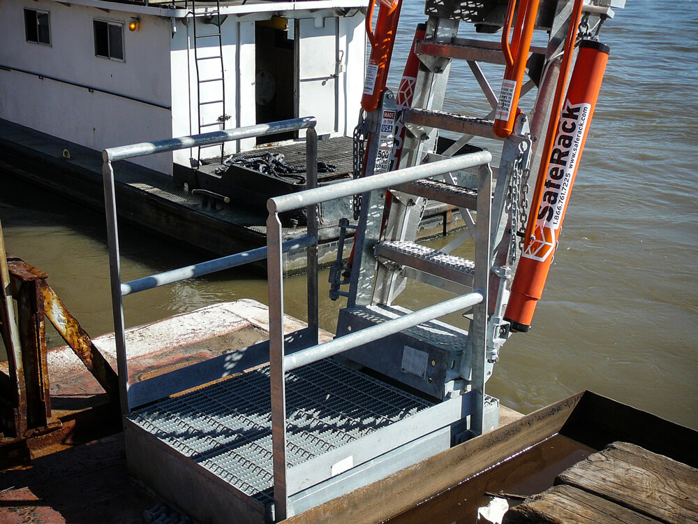 Barge And Ship Style Gangways Safety Science