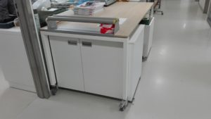 industriële labelprinter maatkast