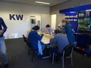 workshop industriële labelprinter