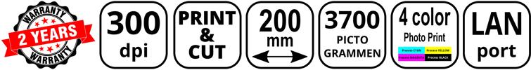 CPM-200 Kenmerken