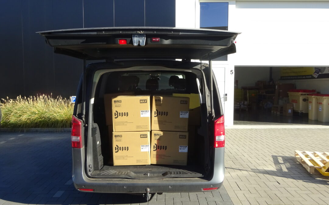 Wij blijven doorgaan! Deze labelprinters staan klaar om geleverd te worden!